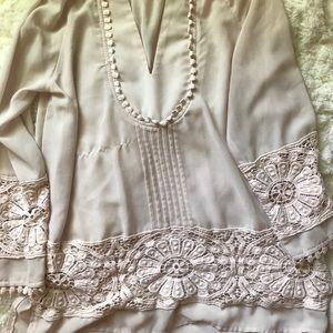 Dressy long sleeve